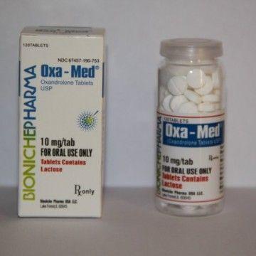 Oxa-Med Oxandrolone Bioniche Pharma