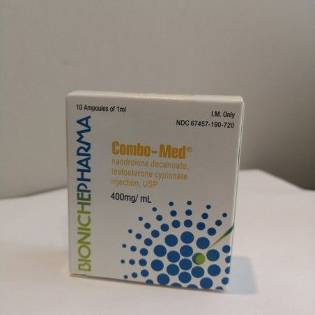 Combo-Med (Test. Cypionate + Nandrolone Decanoate) Bioniche Pharma