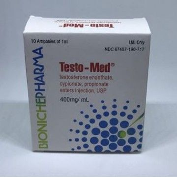 Testo-Med Testosterone Mix Bioniche Pharma
