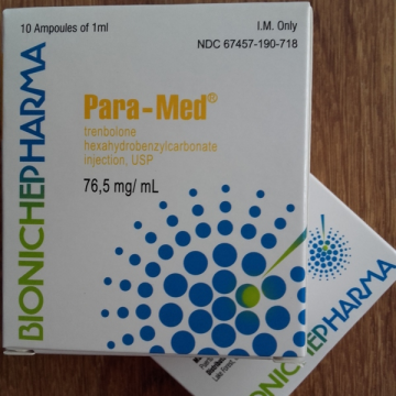 Para-Med Trenbolone Hexahydrobenzylcarbonate Bioniche Pharma